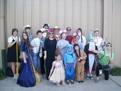 Homecoming Week - Fairy Tale Day