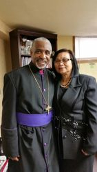 Bishop Cole and Mother Cole