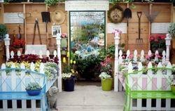 Inside Our Garden House