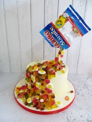 Haribo Gravity Birthday Cake