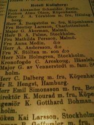 Hotell Kullaberg 1913
