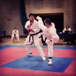 Ash kumite mawashi geri