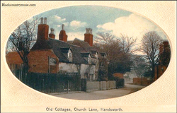 Church Lane Cottages. 1904
