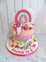 Daisie's 2nd Birthday Cake