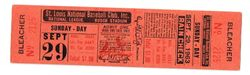 Stan Musial Last Game Ever Full Untorn Ticket, September 29, 1963 Retirement Game, Super Rare...