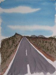 Another California Desert Road