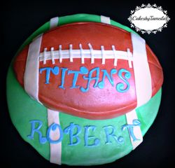 Tennessee Titans Cake