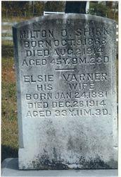 Milton O. and Elsie (Varner) Shirk