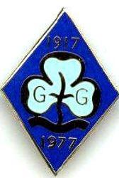 1977 Senior Section Jubilee Badge (metal)