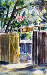 Original Fort Hope Entrance