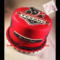 Houston Texans Cake