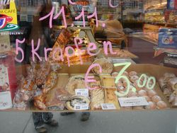 Always in the mood for Krapfen