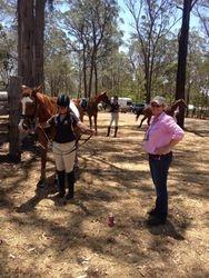 Sue Bondfield & Cassie OBrien at Instructors Exam 15/11/14