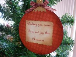 Blessing Bauble