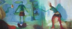 Artist Study 2 - oil pastels