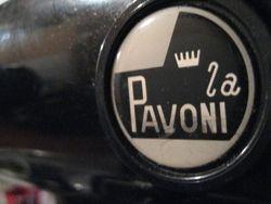 Our coffee machine La Pavoni