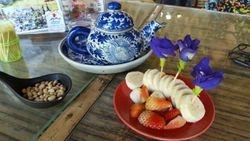 Tea with goodies