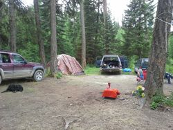 More tents Midsummer Solstice 2013