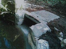 work on ponds