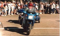 Tom in the parade at 1997 AGM Wagga Wagga NSW - Mar 1997