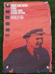 Kino afisa Lenin. 1979 m. Kaina 3,85