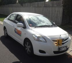 Driving School Berwick -Toyota Yaris - Manual Transmission