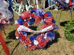Rebecca Motte Chapter wreath