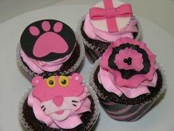 Pink Panther Cupcakes
