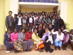 Counseling Training Class in Lusaka Zambia