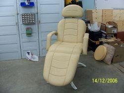 Chaise pour soins esthétiques