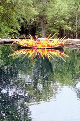 Chihuly in Water Garden