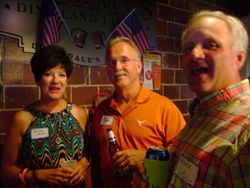 De Ann and Gary Mapes and Mark DePhillips