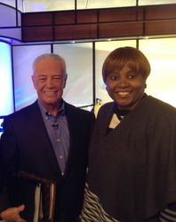 Apostle Debbie with Dr. Jerry Savelle