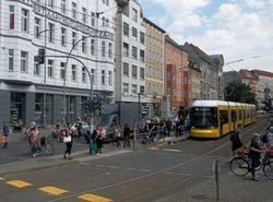 On tour in Torstraße.