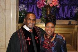 Our senior pastors...Bishop & Pastor Mullings