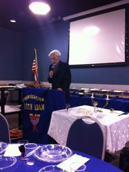 our President, Irwin Cohn
