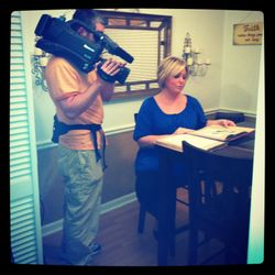 Taping for a medical piece
