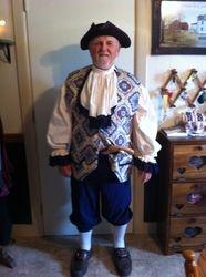 Men's Colonial Costume