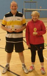 Handicap Tournament Mens Doubles Runners Up