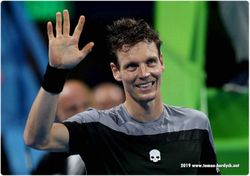 Tomas Berdych starts new season in style