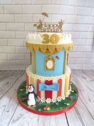 Mary Poppins 30th Birthday Cake