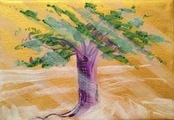 Sun Streaked Tree