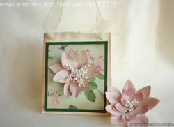 Gift Bag with Flower Fancies