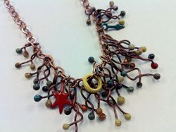 Fractals Necklace