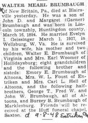 Brumbaugh, Walter M. 1948