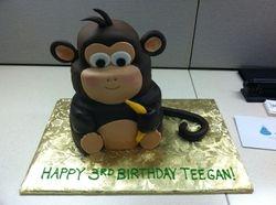 3D Monkey Cake!