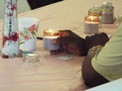 Prayer Candle Lighting