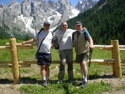 Val Venegia- i tre fratelli