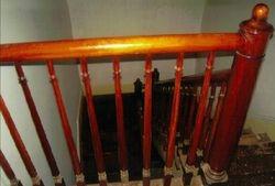 Back stairway, descending