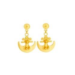 Aretes de colgar pequenos - Small dangling earrings